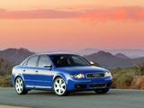 Images of Audi S4 Sedan US-spec (B6,8E) 2003–05