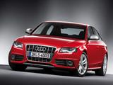 Images of Audi S4 Sedan (B8,8K) 2009–11