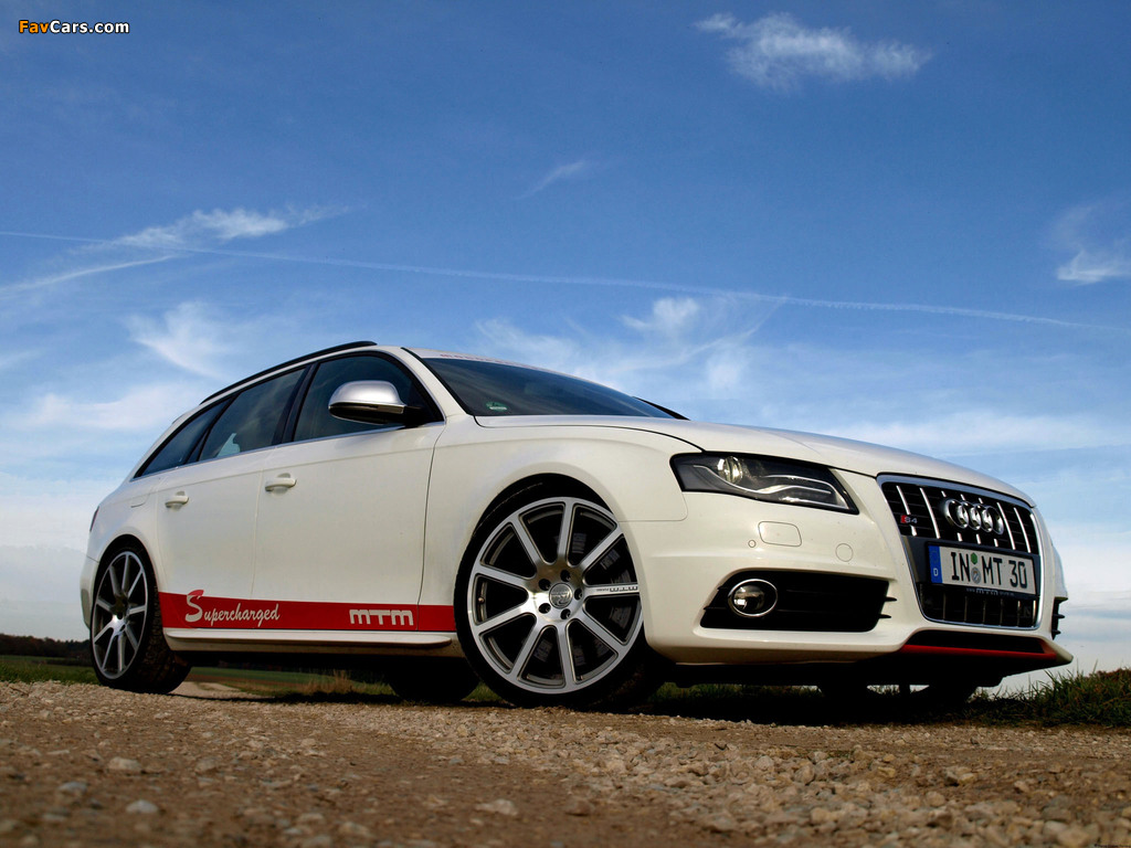 Images Of Mtm Audi S4 Avant B8 8k 2009 1024x768