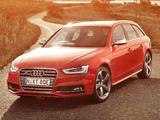 Images of Audi S4 Avant AU-spec (B8,8K) 2012
