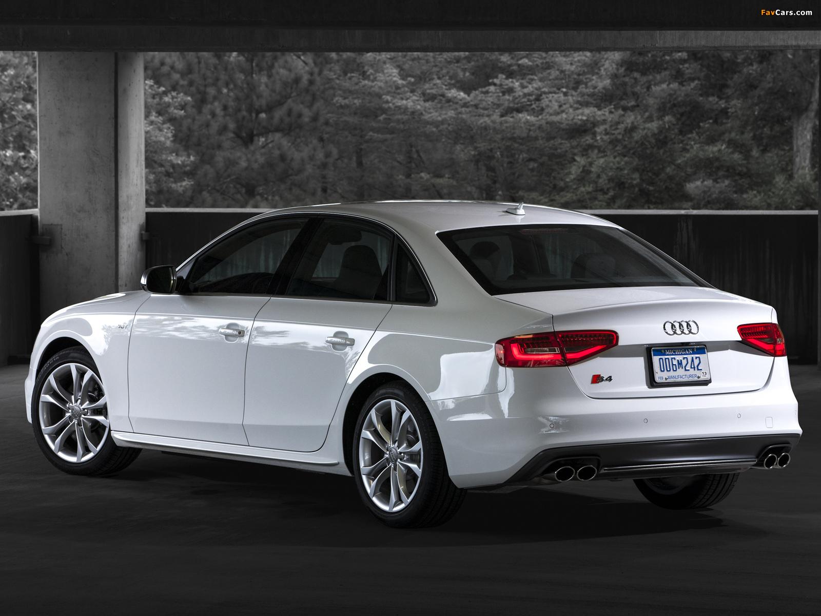 Images of Audi S4 Sedan US-spec (B8,8K) 2012 (1600 x 1200)