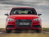 Images of Audi S4 Sedan AU-spec (B9) 2017