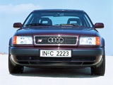 Photos of Audi S4 Sedan (4A,C4) 1991–94