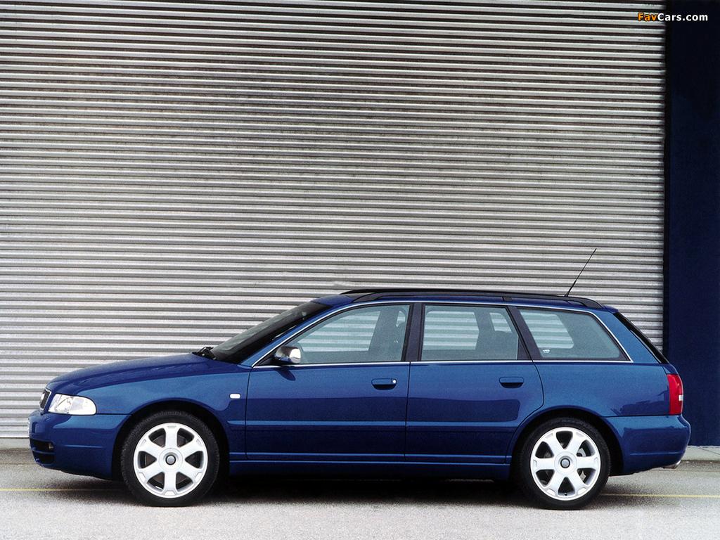 Photos of Audi S4 Avant (B5,8D) 1997–2002 (1024 x 768)