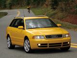 Photos of Audi S4 Avant US-spec (B5,8D) 1997–2002