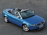 Photos of Audi S4 Cabrio (B6,8H) 2002–05