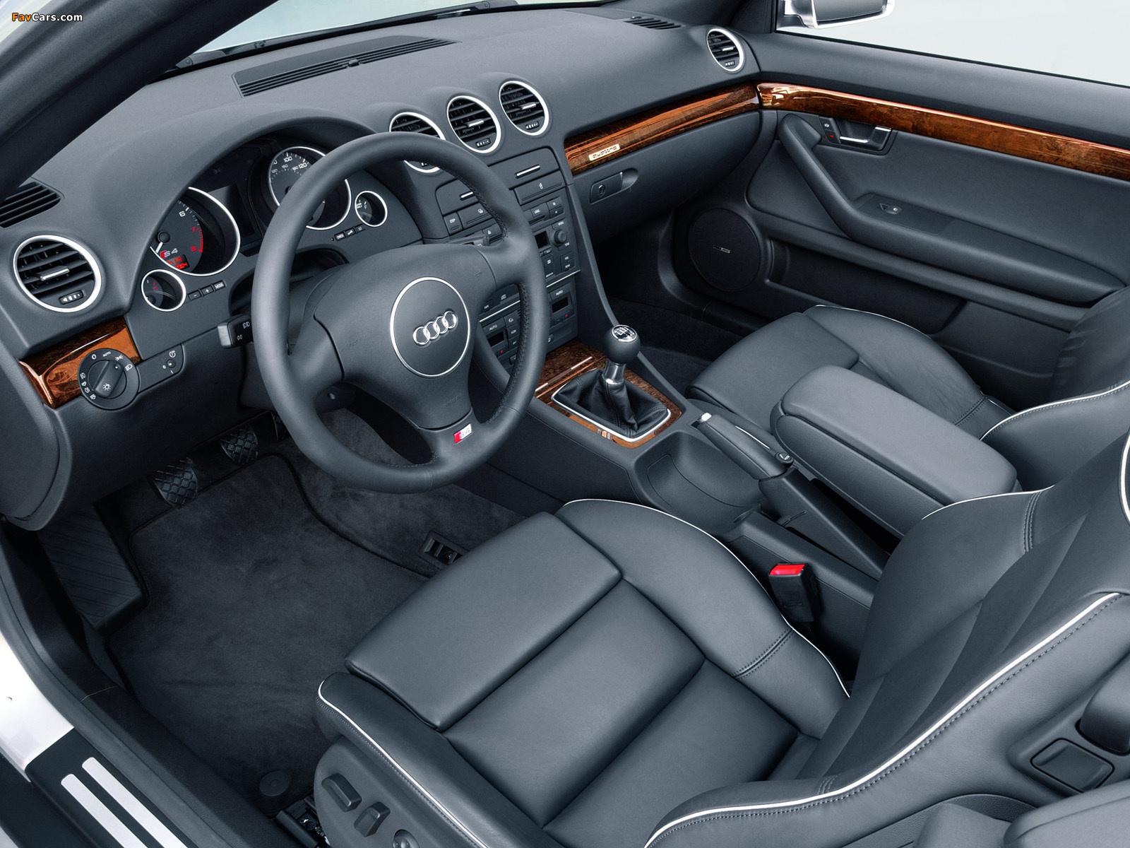 Photos of Audi S4 Cabrio US-spec (B6,8H) 2002–05 (1600 x 1200)