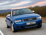 Photos of Audi S4 Cabrio ZA-spec (B6,8H) 2002–05