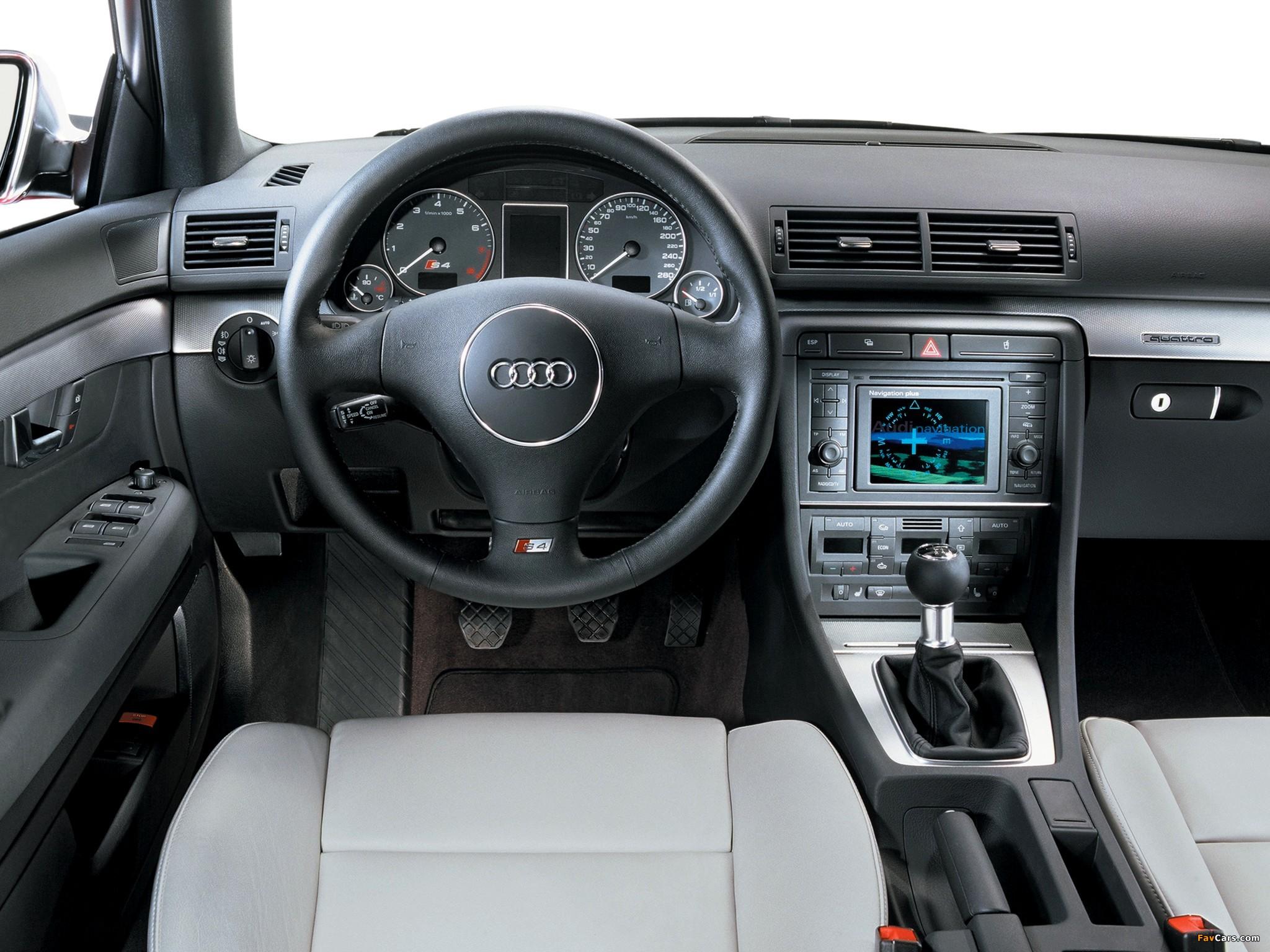 Photos of Audi S4 Sedan (B6,8E) 2003–05 (2048 x 1536)