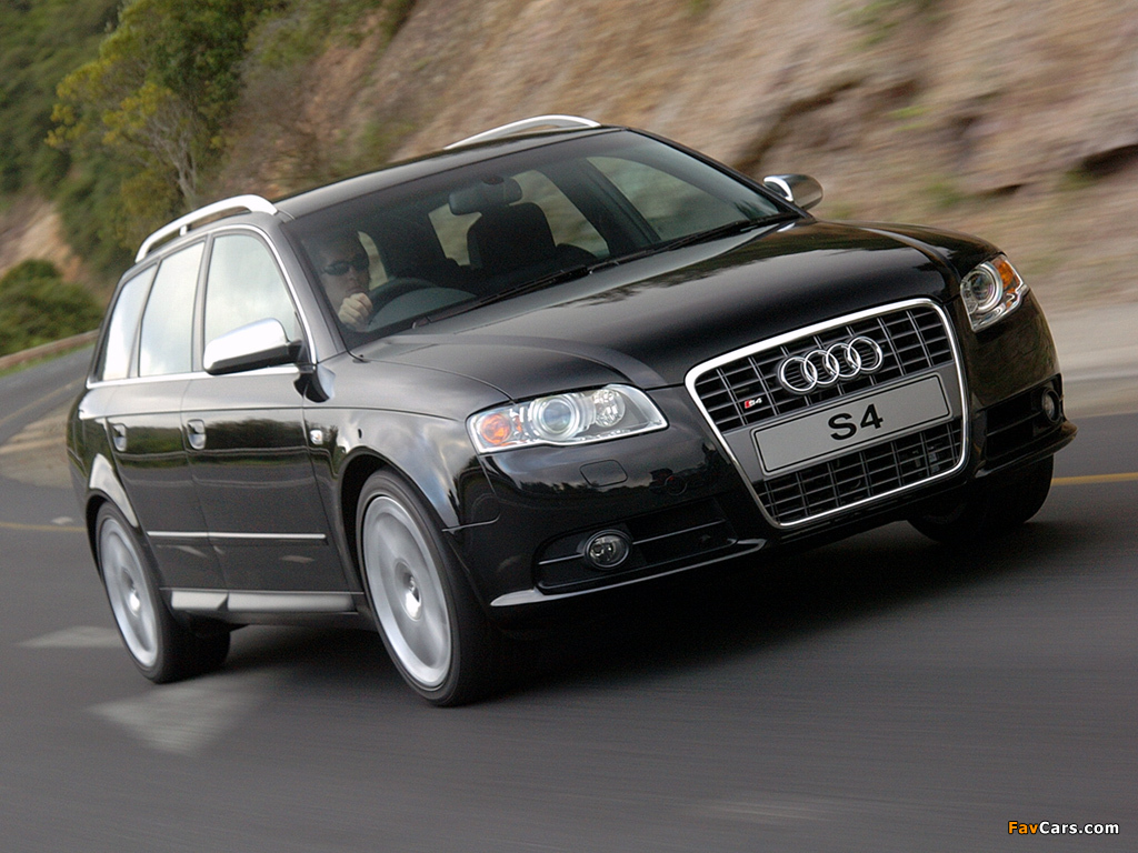 Photos Of Audi S4 Avant Za Spec B7 8e 2005 08 1024x768
