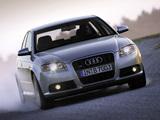 Photos of Audi S4 Sedan (B7,8E) 2005–07