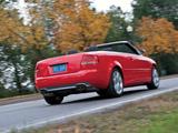 Photos of Audi S4 Cabriolet US-spec (B7,8H) 2007–08