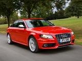 Photos of Audi S4 Sedan UK-spec (B8,8K) 2009