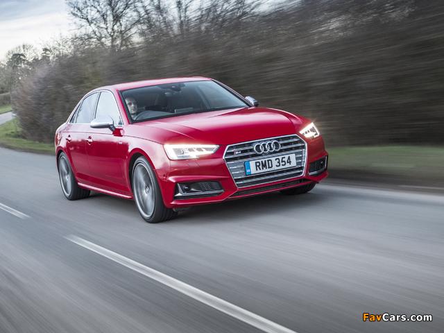 Photos of Audi S4 Sedan UK-spec (B9) 2017 (640 x 480)