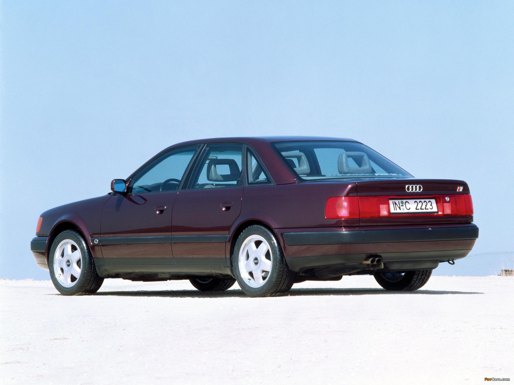 Pictures of Audi S4 Sedan (4A,C4) 1991–94 (2048 x 1536)