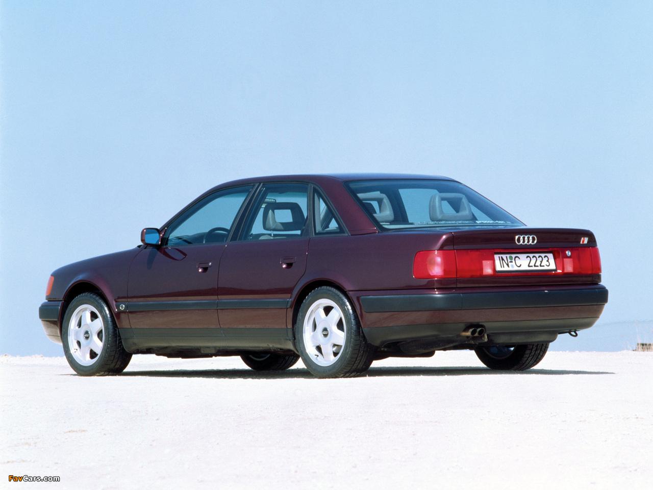 Pictures of Audi S4 Sedan (4A,C4) 1991–94 (1280 x 960)