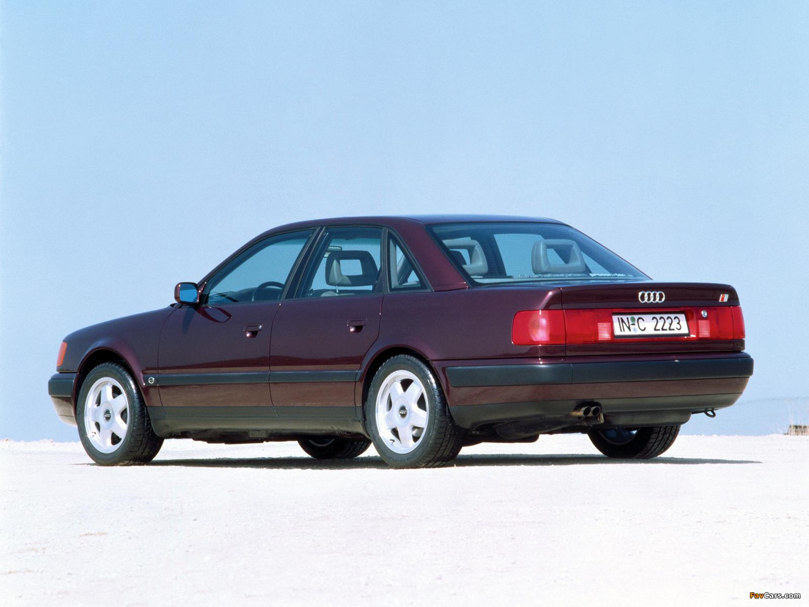 Pictures of Audi S4 Sedan (4A,C4) 1991–94 (1600 x 1200)