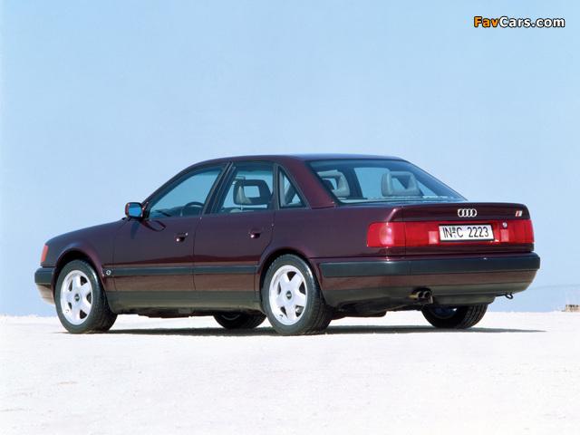 Pictures of Audi S4 Sedan (4A,C4) 1991–94 (640 x 480)