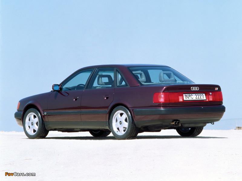 Pictures of Audi S4 Sedan (4A,C4) 1991–94 (800 x 600)
