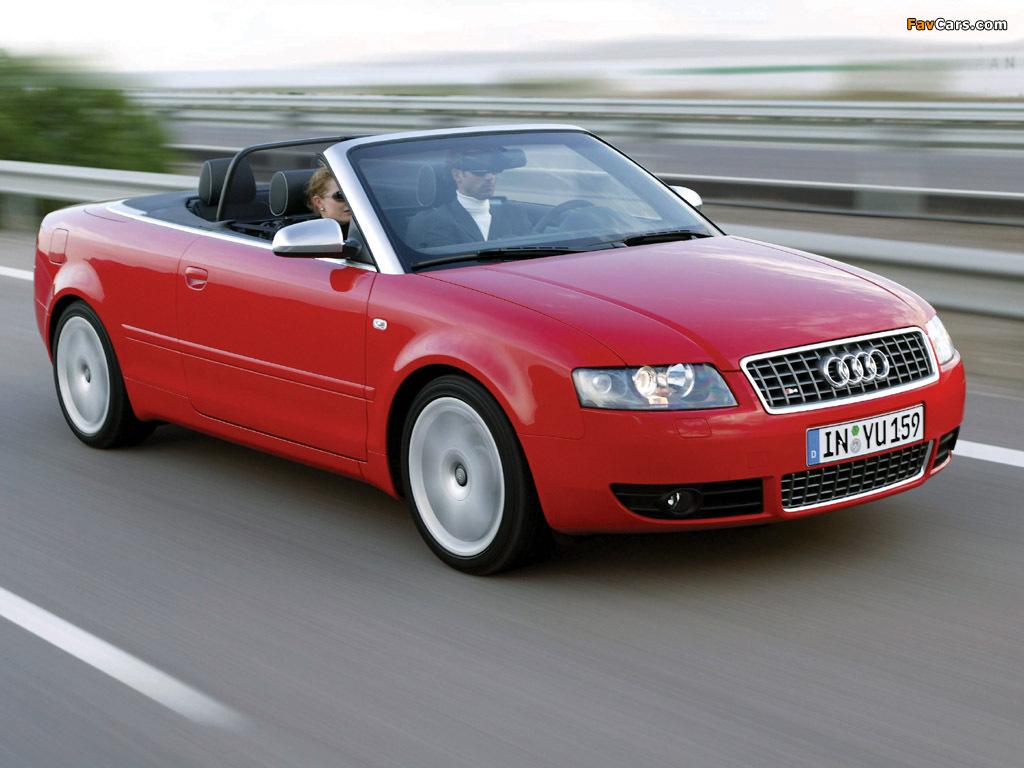 Pictures Of Audi S4 Cabrio B6 8h 2002 05 1024x768