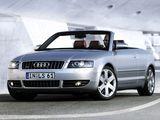 Pictures of Audi S4 Cabrio (B6,8H) 2002–05