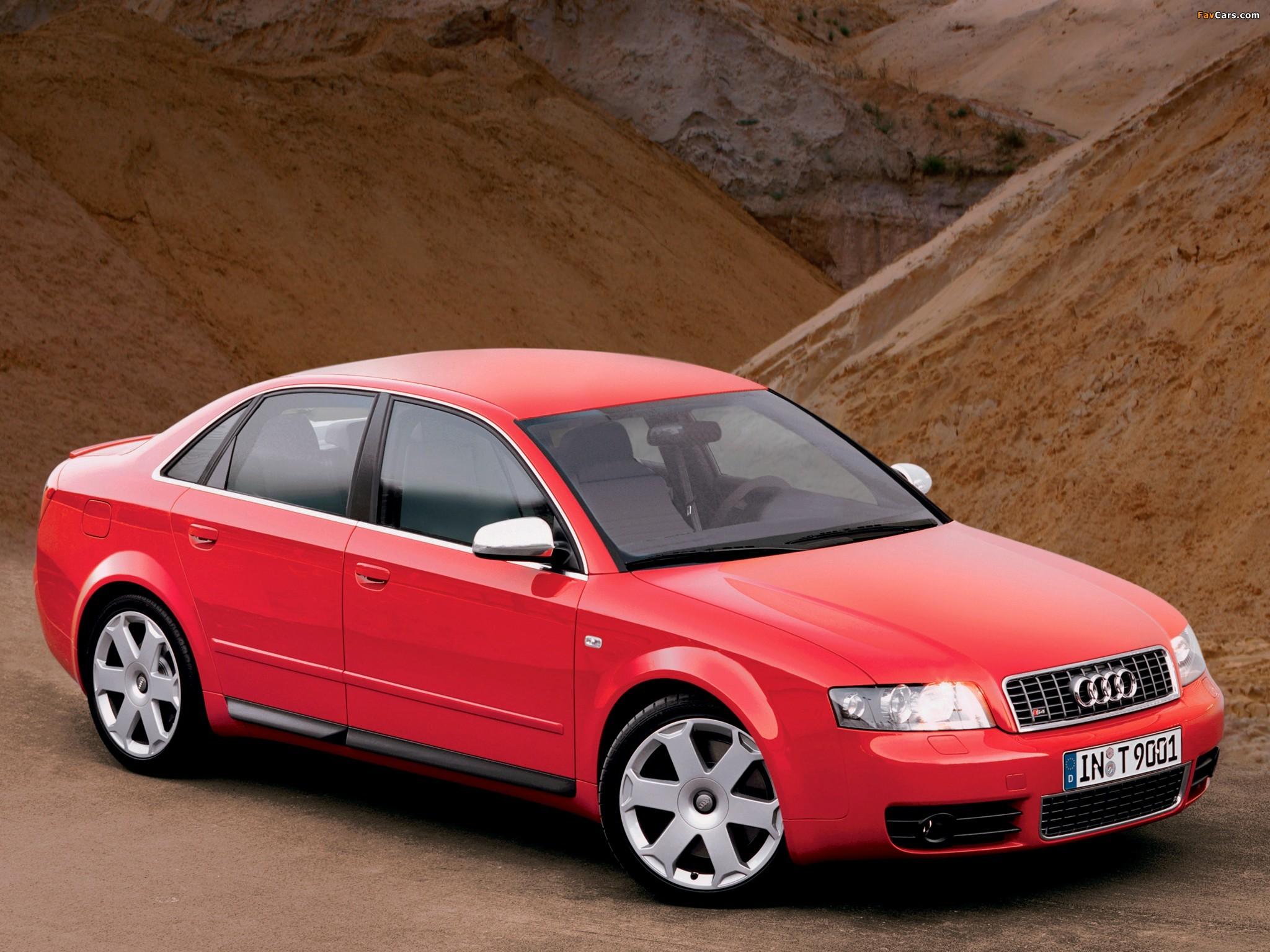 Pictures of Audi S4 Sedan (B6,8E) 2003–05 (2048 x 1536)
