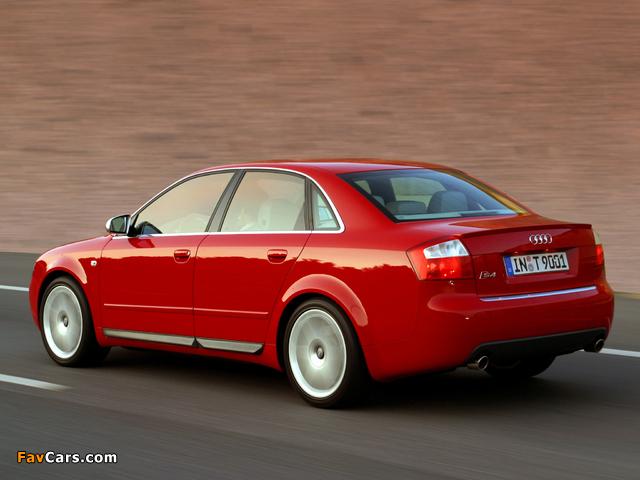 Pictures of Audi S4 Sedan (B6,8E) 2003–05 (640 x 480)