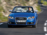 Pictures of Audi S4 Cabriolet (B7,8H) 2007–08