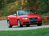 Pictures of Audi S4 Cabriolet US-spec (B7,8H) 2007–08