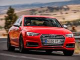 Pictures of Audi S4 Sedan AU-spec (B9) 2017