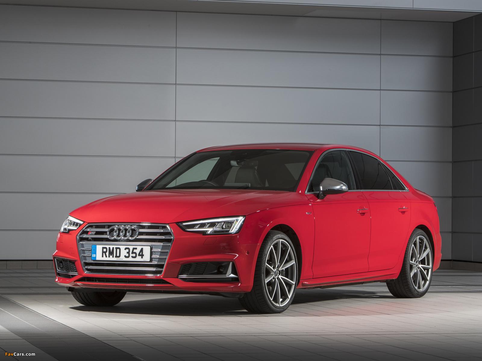 Pictures of Audi S4 Sedan UK-spec (B9) 2017 (1600 x 1200)