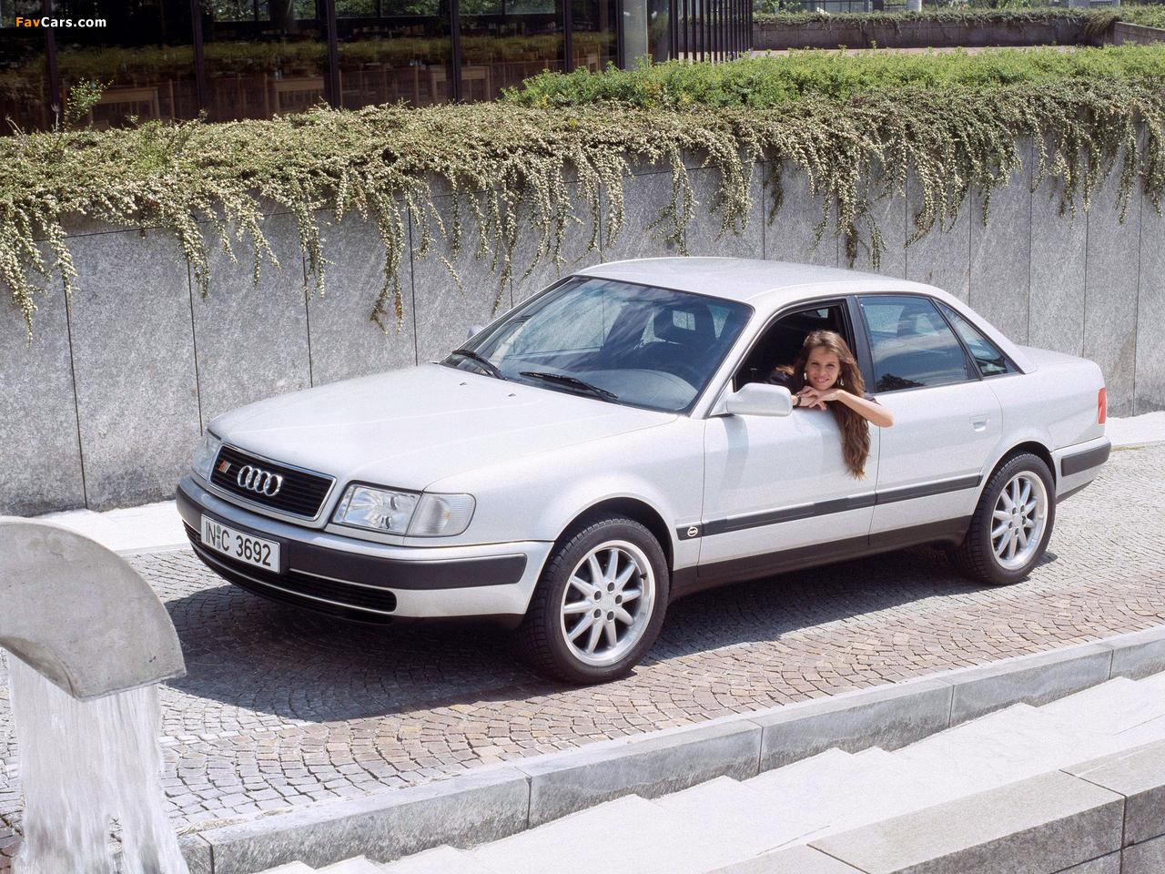 Audi S4 Sedan (4A,C4) 1991–94 wallpapers (1280 x 960)