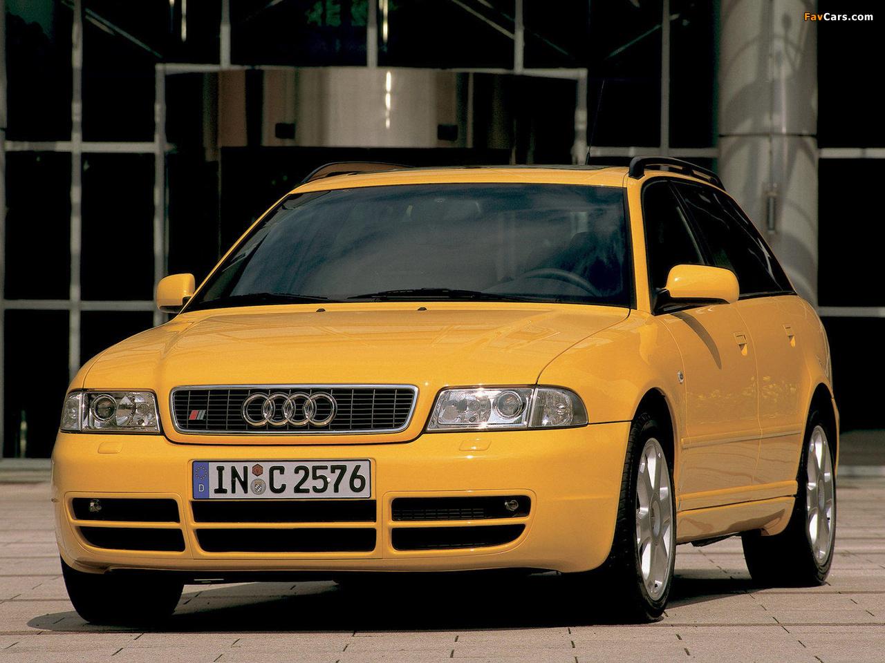 Audi S4 Avant (B5,8D) 1997-2002 wallpapers (1280x960)