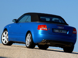 Audi S4 Cabrio ZA-spec (B6,8H) 2002–05 wallpapers