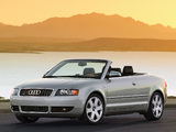 Audi S4 Cabrio US-spec (B6,8H) 2002–05 wallpapers
