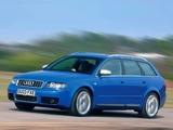 Audi S4 Avant UK-spec (B6,8E) 2003–05 wallpapers