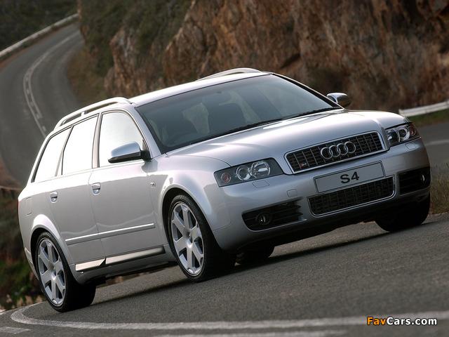 Audi S4 Avant ZA-spec (B6,8E) 2003–05 wallpapers (640 x 480)