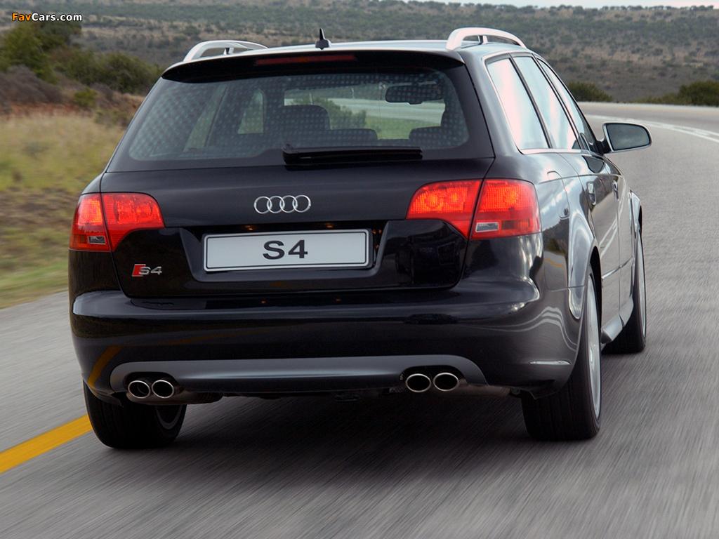 Audi S4 Avant ZA-spec (B7,8E) 2005–08 wallpapers (1024 x 768)