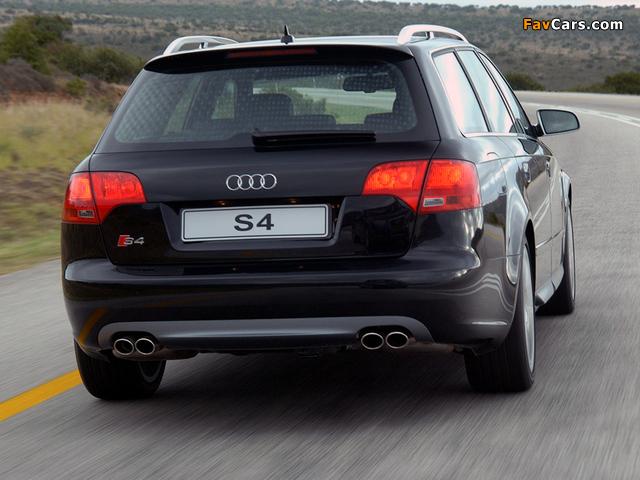 Audi S4 Avant ZA-spec (B7,8E) 2005–08 wallpapers (640 x 480)