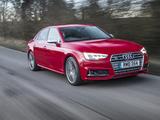 Audi S4 Sedan UK-spec (B9) 2017 wallpapers