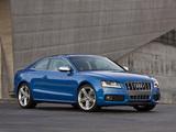 Audi S5 Coupe US-spec 2008–11 images