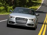 Audi S5 Cabriolet US-spec 2012 images
