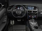 Audi S5 Cabriolet US-spec 2012 pictures