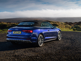 Audi S5 Cabriolet UK-spec 2017 photos