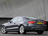 Photos of Audi S5 Coupe UK-spec 2008–11