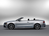 Photos of Audi S5 Cabriolet US-spec 2012