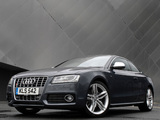 Pictures of Audi S5 Coupe UK-spec 2008–11