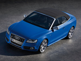 Audi S5 Cabriolet 2009–11 wallpapers