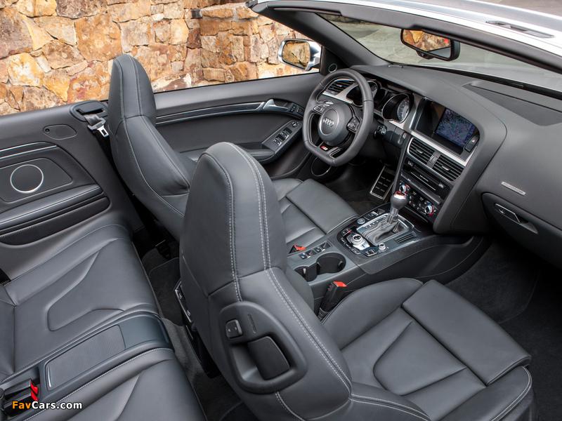 Audi S5 Cabriolet Us Spec 2012 Wallpapers 800x600