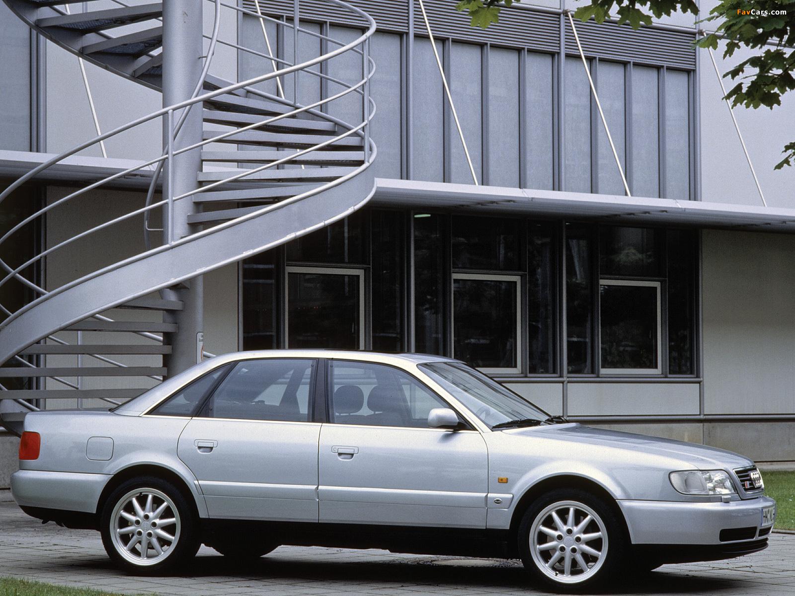 Audi S6 Sedan 4a C4 1994 97 Wallpapers 1600x1200